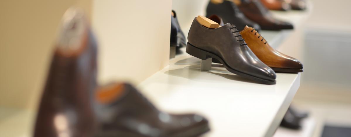 Chaussures en cuir issu de la collection automne hiver 2016