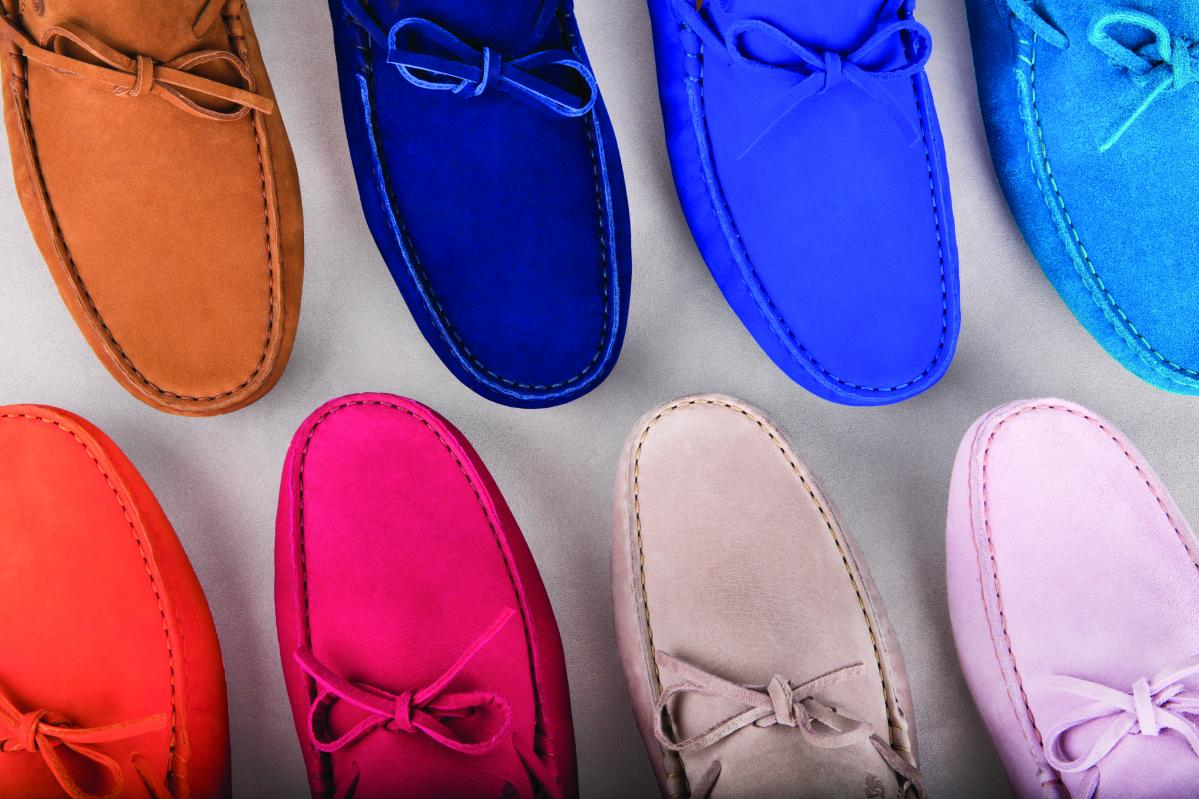 Mocassins colorés de la marque Bobbies